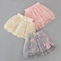 Skirts Girls Pettiskirt Baby Tutu Tulle Puffy Kids Skirt Toddler Girl Summer Clothes Infant Cakeskirt Princess Children Clothing