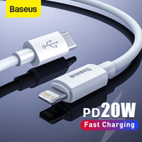 Baseus USB C Cable for Phone 12 11 20W PD Fast Charge USB C to Lighting Cable for Phone 8 Xr Charger Data USB Type C Cable