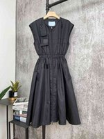 Milan pist elbiseler 2021 yaz panelli kadın tasarımcı elbise markası ile aynı stil elbise etek omuz askılı 0313-2