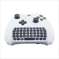 Mini Gaming Keyboard для Xbox One S Message Keyboard с гнездом аудио / наушников для Xbox One Elite и Slim Gam