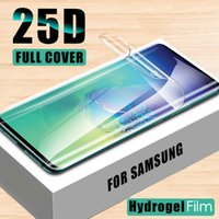 Protector de pantalla HD para Samsung Galaxy Note 10 Pro 8 9 S10e lite, película suave hidrogel S8 S9 S10 Plus S7 edge, no cristal