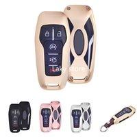 5 кнопок алюминиевый умный пульт дистанционного ключа CARE FOB Крышка для Lincoln MKZ MKC MKX