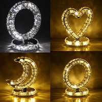 Crystal Table Lamp K9 Crystal Bedside Lamp For Bedroom Studi...