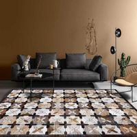 Carpets 120x160 Retro Vintage Carpet Persian Living Room Bedroom Mat Anti-slip Area Absorbing Boho Moroccan Tabisstyle
