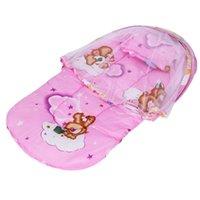 الحضانة الفراش المحمولة سرير الطفل سرير للطي البعوض صافي طي البعوض صافي الرضع 191 T2