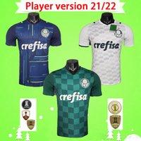 لاعب Versoin 2021 2022 Palmeiras Soccer Jerseys Home Third Dudo G.Jesus جان Alecandro Allione Cleiton Xavier 21 22 قمصان كرة القدم أعلى جودة