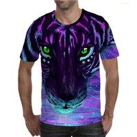 Men's Designer t shirts 3D printed animal series Visual deception T-shirt Fashion DIY custom street loose casual round collar Gothic short sleeve summer
