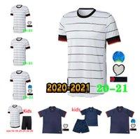 Camicia da uomo e per bambini Germania 20212020 Camicia da calcio e Away Shirt Team Hummels Kroos Draxler Reus Muller Golf Kimmich Camicia da calcio