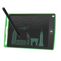 8.5 inç LCD Yazma Tablet Çizim Kurulu Blackboard El Yazısı Pedleri Hediye Yetişkinler Için Çocuklar Kağıtsız Not Defteri Tabletler Memolar ile Yükseltilmiş Kalem