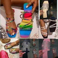 nl9Ke d'or DWAY MULE TOILE DE JOUY embroidery high quality Sandals Stripes blooms Slippers designer Slides slipper flip flops Womens Slide