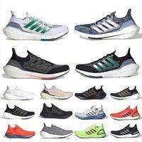 ultra boost 2021 chaussures de course pour hommes 7.0 ultraboost 20 noir solaire jaune noyau triple blanc gris Sashiko 4.0 hommes femmes baskets baskets de sport 36-45 Tech Indigo