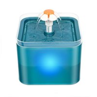 Cat Bowls & Feeders Auto Dog Drinking Fountain USB Powered Pet Water Dispenser Drink Bowl With Filtring For Fresh Clean