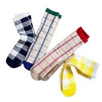 Детские носки хлопок детские носки случайные девушки вязание колена высокие носки леопарда спортивные детские аксессуары детская одежда 1-8Y B4109