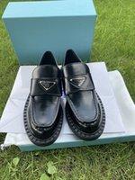 직접 판매 고품질 여성 드레스 신발 패션 핸드 바느질 편안한 진짜 가죽 샤이 웨딩 파티 학생 디자이너 신발 럭셔리 포장 상자 35-41