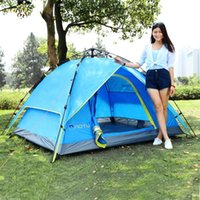 Tents And Shelters Automatic Tent 3-4 Person Outdoor Camping Tent,Easy Instant Setup Protable Backpacking For Sun Shelter,Travelling,Hiking