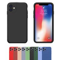 Flüssiges Silikon-weiche TPU-Gummi-Kamera-Objektiv-Schutz-Fall-Abdeckung für iPhone 12 11 PRO MAX XR XS 6 7 8 PLUS 5G