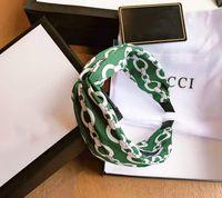 Luxus Frauen Haarband Mode Marke Silk Hair Clip Headband Schmuck Schöne Frauen Haarspange mit Marke Geschenkbox und Originalaufkleber