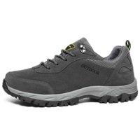 Homens ao ar livre Caminhadas Sapatos 2020 Impermeável Respirável Tático Combate Army Boots Treinamento Treinadores Anti-Slip Trekking Tênis