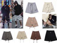 Hombre Verano Casual Pantalón corto Pantalón Nuevo Moda Moda Hip Hop Essentials Imprimir Pantalones Pantalones Pantalones Mans Mujeres Multicolor Pantalones cortos de moda Pantalones cortos sueltos Joggers Sweetpants Tamaño de niebla S-XL