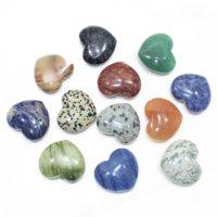Kırmızı brokar ekleyin kristal ham taş yün malzeme aşk şeklindeki oyuncak masa üstü dekorasyon süsleme ve hediye ekleyin