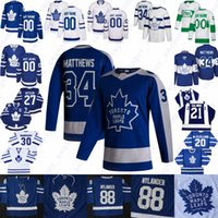 Toronto Maple Leafs Jersey Nicholas Robertson Jack Campbell Michael Hutchinson Adam Brooks David Rittich Riley Nash Nick Foligno Alex Galchenyuk
