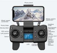 بدون طيار L900 برو 4 كيلو hd المزدوج كاميرا gps 5 جرام wifi fpv في الوقت الحقيقي ناقل الحركة فرش موتور rc المسافة 1.2km المهنية مربع بدون طيار