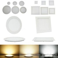 LED Down Lights Panel Lights 3W 6W 9W 12W 15W 18W 24W LED Luci da incasso Lights Downlight Lampada da soffitto AC 85-265V # 25