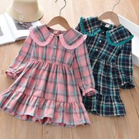 Girls Dress Kids Clothes 2021 Spring & Autumn Kids Dresses f...