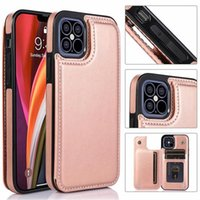 Luxury Wallet Leather Case For iPhone 13 12 Mini Back Flip Coque For iPhone 11 Pro XR XS Max X 6 6s 7 8 Plus Card Slots Cover