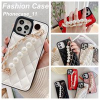 Fashion phone case with Beautiful Pearl Cases Luxury Designer Brand for iphone 12 Pro max 11 11xs XSmax xr 8plus 8 7plus wholesaler 062116