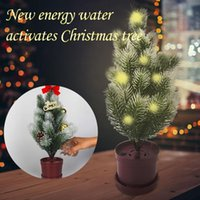 Christmas Decorations 1PC Energy Tree Diy Ornament For Children Technology Watering And Lighting Up Home Decoration