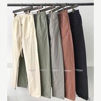 2021 Angst Gott Essentials Track Hose Fog Reflektierende Lässige Leichte Hosen Hosen Männer Frauen Hip Hop Streetwear