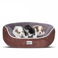 الحيوانات الأليفة السرير ل الصغيرة المتوسطة كبيرة الكلب قفص لوحة ديلوكس لينة الرطوبة الرطوبة أسفل لجميع مواسم جرو كلب منزل الحيوانات الأليفة
