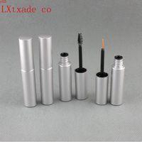 8ml Silver Empty Plastic Eye Black Tube Bottles liquid Eyeliner Wholesale Retail Mascara Cream Packaging Containershigh qty