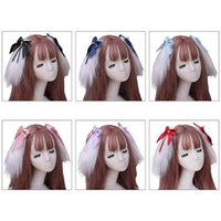 Other Event & Party Supplies Cute Furry Long Ears Hair Clips Japanese Lolita Kawaii Animal Hairpins Sweet Bowknot Bell Cosplay