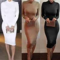 Winter Soft Cotton Stretch Black Party dresses for womens Plus Size Skinny Sexy Club Wear Gorgeous Warm Maxi Bandage Bodyconshuangsuml