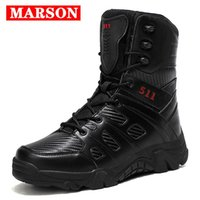 Boots 2021 Vogue Men Work Safety Shoes Sneakers Male High-rise Outdoor Hiking Explosions Tactical Plus Size