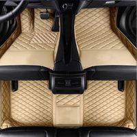 Хорошее качество Кожаные кожаные коврики для Kia K2 K3K4 K5 Sorento Sportage Optima Forte Cerato Cadenza 2007 Ковровые покрытия