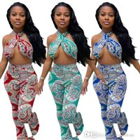 Women Tracksuits Two Piece Pants Sets Summer Clothing Printed Shorts + T-shirt Short Sleeve Crop Top Sexy Suits S-XXL