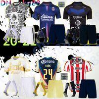 Liga MX 2021 2022 Club America Tigres Unam Chivas Soccer Jerseys ثالثا 20 21 22 مونتيري كاميساس دي كرة القدم القمصان الرجال الاطفال كيت