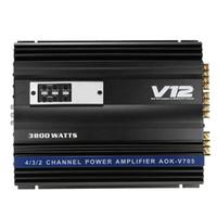 Новый автомобиль 3800 WATT RMS 4/3/2 канала Автомобильные внедорожники Audio Power Stereo Усилители AMP 4OHM 12V
