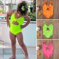 INS Summer Toddler Kids Baby Girl Swimsuit One-Pieces Swimwear Beach Bikini Bathing Suit Holiday