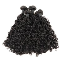 Ishow Funmi Cabelo 100A Bunchy Rose Curl Virgem Humano Humano 3 / 4Bundles Cor Natural Moda Curly Brazilian Peruano Malásio Cabelo Indiano