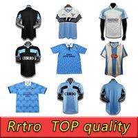 2014 2000 1998 1989 Retro Lazio Soccer Jerseys 10 Crespo 9 Salas 11 Mihajlovic 21 Inzaghi Maglia Da Calcio Camisas de Fútbol Vintage Italia