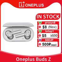 OnePlus Buds Z Беспроводной Bluetooth 5.0 TWS Наушники IP55 Водонепроницаемые Наушники 450 мАч для OnePlus 8T 8 PRO 7
