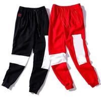 Мода мужские женские брюки с буквами повседневные спортивные длинные спортивные штаны осень дизайнер Мужские брюки 2 цвета доступны размер одежды M-2XL