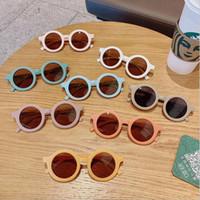 نظارات الأطفال العلامة التجارية مصمم النظارات الشمسية الاستقطاب النظارات الشمسية المضادة للأشعة فوق البنفسجية الطفل التظليل النظارات فتاة بوي نظارات ZYY740