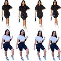 Plus Größe 3XL Frauen T-shirts Sommer Kleidung Kurzarm Tops Brief Drucken T Shirts Heißer Verkauf Sporthemd Designer Jerseys DHL Schiff 4571