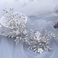 COOSNOBLE FORDE BRIDAL COUNDEKES TIARA CORMEND Свадебные аксессуары для волос Свадебные повязки для женщин Rhinestone Bridal Tiara