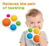Dimple simple Fidget C, Pop It Fidget Push Pul Pop Silicone Sensory Juguetes, Educación Earra para bebés Atención de juguetes Aprendiendo
